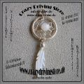 Anh�nger , Dreamcatcher , Traumf�nger , Feder , wei� , Navajo
