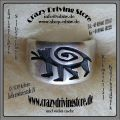 Ring , Wolf , Wolfspfote , Hopi , traditionelle Gestaltung