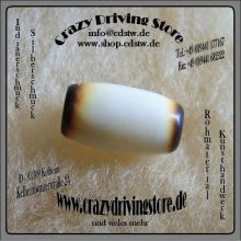 Rohmaterial , Knochenr�hre , Hairpipes , geflammte Enden , kurz